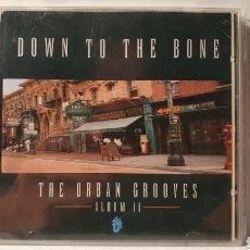 CDs de Música: CD/ DOWN TO THE BONE/ THE URBAN GROVES ALBUM II /( REF. E). Lote 211825517