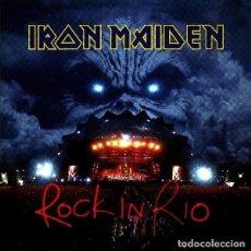 CDs de Música: IRON MAIDEN. ROCK IN RIO. DOBLE CD. Lote 211826823