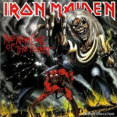CDs de Música: IRON MAIDEN. THE NUMBER OF THE BEAST. CD. Lote 211827305
