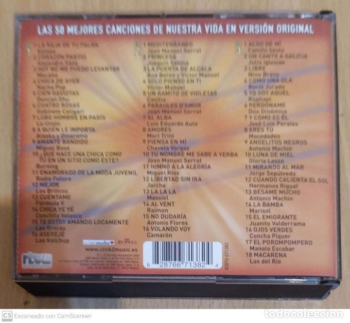 CDs de Música: NUESTRA MEJOR CANCIÓN - 3 CDs 2004 RTVE (SERRAT, MIGUEL RIOS, AUTE, SABINA, NINO BRAVO, MOCEDADES.) - Foto 2 - 211833912