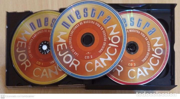 CDs de Música: NUESTRA MEJOR CANCIÓN - 3 CDs 2004 RTVE (SERRAT, MIGUEL RIOS, AUTE, SABINA, NINO BRAVO, MOCEDADES.) - Foto 3 - 211833912