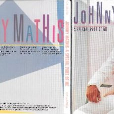 CDs de Música: JOHNNY MATHIS - A SPECIAL PART OF ME. Lote 211838266