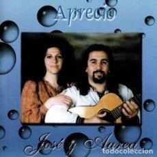CDs de Música: JOSE Y AUREA. APRECIO. TROVADORES URBANOS DE VIGO. ELITE 1999. GALICIA. CD.. Lote 211852096