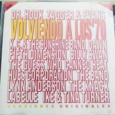 CDs de Música: VOLVIENDO A LOS 70 / VARIOS ARTISTAS - VERSIONES ORIGINALES /. Lote 211879217
