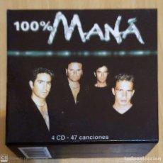 CDs de Música: MANA (100% MANA) BOX SET 4 CD'S 2001. Lote 211880512