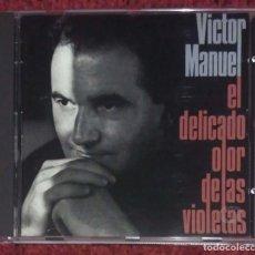 CDs de Música: VICTOR MANUEL (EL DELICADO OLOR DE LAS VIOLETAS) CD 1990. Lote 211881526