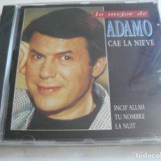 CDs de Música: ADAMO - CAE LA NIEVE -. AÑO 1994 - PRECINTADO.. Lote 211921081