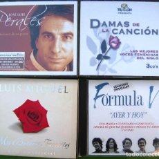 CDs de Música: LOTE 7 CDS Y 2 DVDS (JOSE LUIS PERALES, LUIS MIGUEL, FORMULA V, DAMAS DE LA CANCIÓN). Lote 211922831