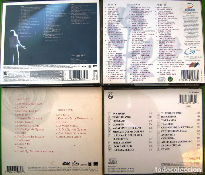 CDs de Música: Lote 7 CDs y 2 DVDs (Jose Luis Perales, Luis Miguel, Formula V, Damas de la Canción) - Foto 3 - 211922831