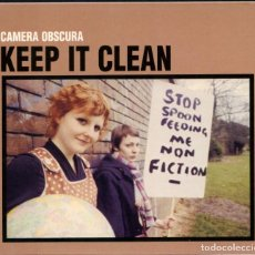 CDs de Música: CAMERA OBSCURA ?– KEEP IT CLEAN – ELEFANT RECORDS – DIGIPAK – CD. Lote 211924453