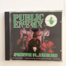 CDs de Música: PUBLIC ENEMY – APOCALYPSE 91... THE ENEMY STRIKES BLACK EUROPE 1991. Lote 211926213