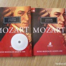 CDs de Música: MOZART (GUIAS MUSICALES ACENTO-EMI) LIBRO + 3 CDS ANDREW STEPTOE - EMI CLASSICS. ACENTO EDITORIAL. Lote 211945903