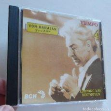 CDs de Música: CD LUDWIG VAN BEETHOVEN - VON KARAJAN INÉDITO - SYMPHONY N. 9. Lote 211969060