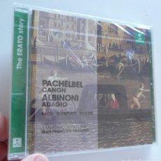 CDs de Música: CD PACHELBEL CANON, ALBIONI ADAGIO, BACH, COMPORTI, MOLTER (PRECINTADO). Lote 211970007