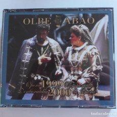 CDs de Música: OLBE ABAO OPERA TEMPORADA 1999-2000 DENBORALDIA (DOBLE CD). Lote 211972695