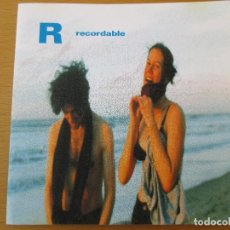 CDs de Música: R RECORDABLE DEMO MAQUETA 1998 7 CANCIONES. Lote 211973552