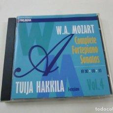 CDs de Música: SONATAS K282, 330, 333 - MOZART, WOLFGANG AMADEUS (1756... - TUIJA HAKKILA -N. Lote 211973801