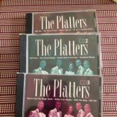 CDs de Música: THE PLATTERS. GRANDES ÉXITOS 3 CDD. Lote 211994563