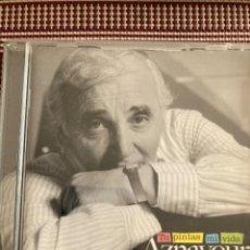 CDs de Música: AZNAVOUR. TU PINTAS MI VIDA. Lote 211994873