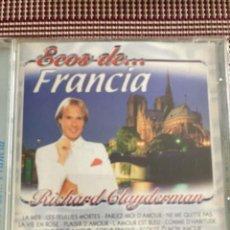 CDs de Música: RICHARD CLAYDERMAN. ECOS DE FRANCIA. Lote 211995290
