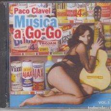 CDs de Música: PACO CLAVEL CD MÚSICA A GO-GO VOL. 1 CD (PRECINTADO). Lote 212005032