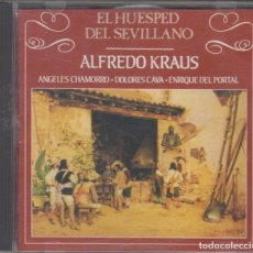 CDs de Música: EL HUÉSPED DEL SEVILLANO CD ALFREDO KRAUS 1987 CARILLÓN. Lote 212006682