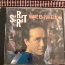 CDs de Música: JM SERRAT. NADIE ES PERFECTO. Lote 212009631