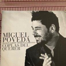 CDs de Música: MIGUEL POVEDA. COPLAS DEL QUERER. 2 CD. Lote 212010243