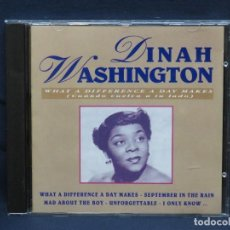 CDs de Musique: DINAH WASHINGTON - WHAT A DIFERENCE A DAY MKES - CD. Lote 212013081