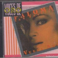 CDs de Música: PALOMA SAN BASILIO CD VUELA ALTO 1988 HISPAVOX VOCES DE ORO. Lote 212014307