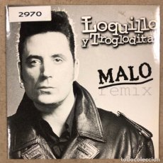 "CDs de Música: - CD - LOQUILLO Y LOS TROGLODITAS ""MALO REMIX"". CD PROMOCIONAL (EMI-ODEON 2000).. Lote 190869722"