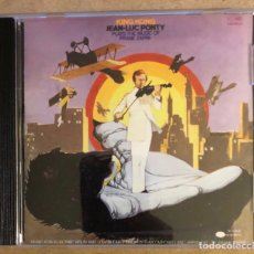 CDs de Música: JEAN LUC PONTY, KING KONG (PLAYS THE MUSIC OF FRANK ZAPPA). BLUENOTE/CAPITOL RECORDS 1993.. Lote 212039011