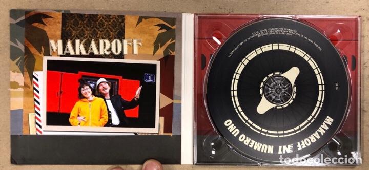 """CDs de Música: - CD DIGIPACK - SERGIO MAKAROFF """"NUMERO UNO"""" (2008). - Foto 2 - 212040102"""
