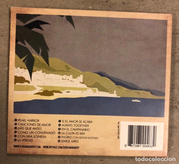 """CDs de Música: - CD DIGIPACK - SERGIO MAKAROFF """"NUMERO UNO"""" (2008). - Foto 3 - 212040102"""