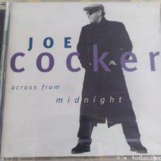 CDs de Música: JOE COCKER / ACROSS FROM MIDNIGHT / CD ORIGINAL SIN DESPRECINTAR. Lote 212046200
