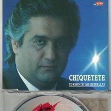 CD de Música: CHIQUETETE - TORERO DE LAS ESTRELLAS (CDSINGLE CAJA PROMO, JAZMIN 1992). Lote 212057691
