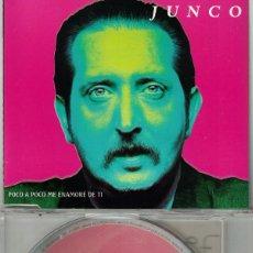 CDs de Música: JUNCO - POCO A POCO ME ENAMORE DE TI (CDSINGLE CAJA PROMO, HORUS 1997). Lote 212080075