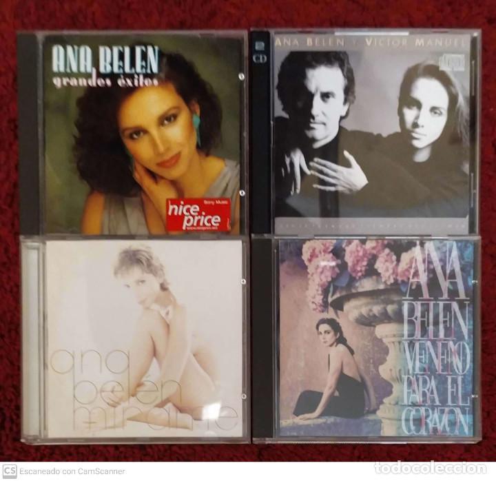 LOTE 4 CD'S ANA BELEN - * VER FOTOS - VICTOR MANUEL (Música - CD's Melódica )