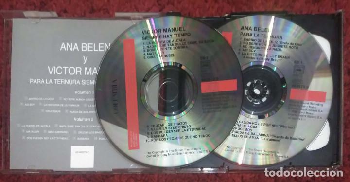 CDs de Música: LOTE 4 CDs ANA BELEN - * Ver Fotos - VICTOR MANUEL - Foto 3 - 151770058