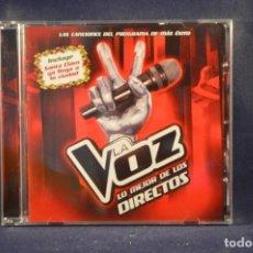 CDs de Música: LA VOZ - LO MEJOR DE LOS DIRECTOS - CD. Lote 212115546