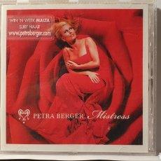 CDs de Música: CD/ PETRA BERGER/ MISTRESS / (REF.F.1). Lote 212125787