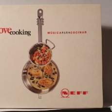 CDs de Música: CD/ LOVE COOKING/ MÚSICA PARA COCINAR / (REF.F.1). Lote 212128606