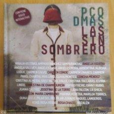 CDs de Música: PACO DAMAS (LAS SIN SOMBRERO) CD LIBRO 2017 - ROZALEN, CARMEN PARIS, AMPARANOIA, ROKO.... Lote 212130713