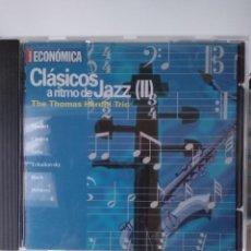 CDs de Música: CLÁSICO A RITMO DE JAZZ - ACTUALIDAD ECONÓMICA - THE THOMAS HARDIN TRIO. Lote 212171347
