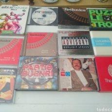 CDs de Musique: DANCE HOUSE TECHNO LOTE DE 11 CDS DOBLES. Lote 212188973