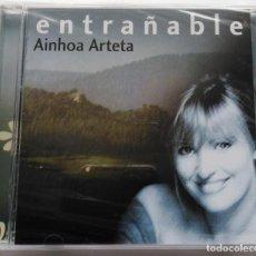 CDs de Música: CD AINHOA ARTETA: ENTRAÑABLE. Lote 212206252