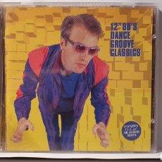 "CDs de Música: 2 CD/ 12"" 80'S DANCE GROVE CLASSICS / (REF.F. 2). Lote 212218842"