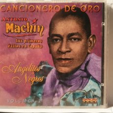 CDs de Música: CD/ ANTONIO MACHIN/ SUS PRIMEROS ÉXITOS EN ESPAÑA/ VOLUMEN 2/ CANCIONES DE ORO/ (REF.F. 2). Lote 212219781