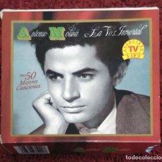 CDs de Música: ANTONIO MOLINA (LA VOZ INMORTAL - SUS 50 MEJORES CANCIONES) 3 CD'S 1994. Lote 212261471