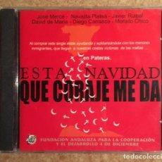 CDs de Música: JOSÉ MERCÉ, DIEGO CARRASCO, DAVID DE MARÍA, JAVIER RUIBAL Y MORAÍTO - CD SINGLE - PRECINTADO. Lote 212298343